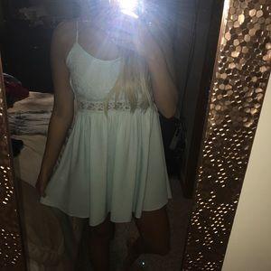 Little sky blue Dress